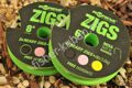 Поводок Korda Ready Zigs on spool 12 size 10 KCR065